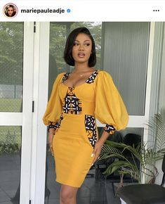 Short African Dresses, Latest African Fashion Dresses, African Print Fashion, Short Dresses, Ankara Dress Designs, Best Casual Dresses, African Attire, Classy Dress, Kitenge