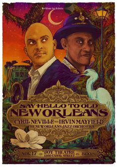 Cyril Neville, Irvin Mayfield and the New Orleans Jazz Orchestra
