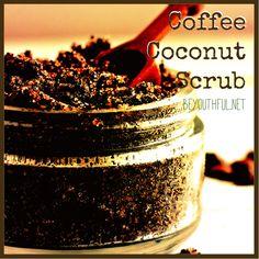 Coffee Coconut Scrub