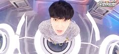 Zhang Yixing, the most adorable human (gif)