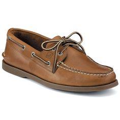 Sperry Men's A/O 2 Eye Shoe - 9 Extra Wide - Sahara