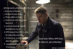 SPN Season 9 Finale Survival Kit
