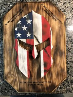 a valuable failure of valuable plans of Advanced Craft Woodworking Tools Cool Wood Projects, Reclaimed Wood Projects, Art Projects, Money Making Wood Projects, Wooden American Flag, Spartan Helmet, Wood Flag, Wood Creations, Flag Design