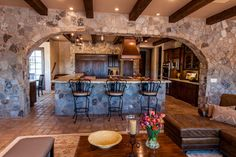 l shaped island ideas | Shaped Kitchen Island Design Ideas, Pictures, Remodel, and Decor