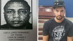 Luis Ángel López Fernández, alias Pocho y Alexander Capele Estrada, de 33 años. (Suministradas)