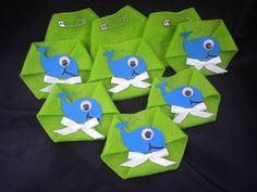 36pc Dirty Diaper Game Baby Shower Whale Ocean by BumBeaCompany, $17.99