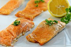 Easy Baked Salmon with Brown Sugar and Garlic