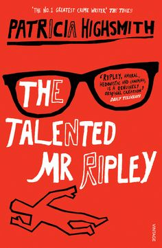 The Talented Mr Ripley by Patricia Highsmith. Not strictly an Agatha-type book, and yet Ripley is one of the most original villains ever invented. So I'm going to stretch the definition. Good Books, Books To Read, My Books, Book Cover Design, Book Design, Reading Lists, Book Lists, Mystery Novels, Grafik Design