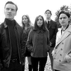 X- Men - Michael Fassbender, Jennifer Lawrence, Rosie Byrne, Nicolas Hoult & James McAvoy