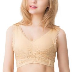 """Are droopy breasts and uncomfortable bras causing you to have bad posture and back pain? If your answer is a resounding, """"Yes"""" then we've got the answer to your problem! The adorable, Seamless Magic Wireless Lift Bra is a lacy and elegant undergarment t Instant Lifts, Neck And Back Pain, Bad Posture, Cute Bras, Comfortable Bras, Bra Styles, Lace Bra, Pure Products, Womens Fashion"""