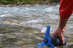Estream: A portable water power generator fits into backpack by Enomad —Kickstarter