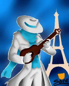 I like music and Paris XD