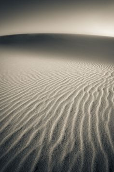 Ripples in the Sand by Mario Moreno, via 500px