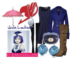 Juvia Lockser - fairy tail by issacaballero on Polyvore featuring art
