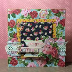 Simply Floral card by StickerKitten | docrafts.com