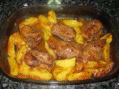 Receitas práticas de culinária: Bochechas de Porco no Forno