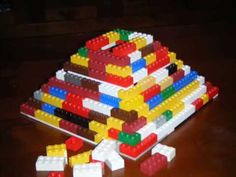 vid of how to build a lego pyramid (for ancient Egypt study)!  Cool--stop motion video!