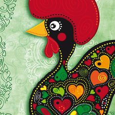 Liven up the walls of your home or office with Portugal wall art from Zazzle. Check out our great posters, wall decals, photo prints, & wood wall art. Chicken Logo, Chicken Art, Wood Wall Art, Wall Art Decor, Wall Décor, Framed Prints, Canvas Prints, Art Prints, Good Luck Symbols