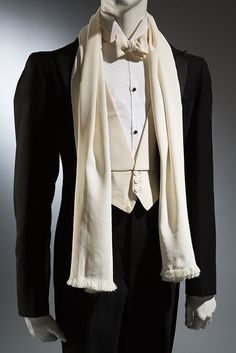 "thestudenttailor: "" Beautiful slim shapes and sharp angles. fashionsfromhistory: "" Tuxedo Wood Carlson Co. 1935 Museum at FIT "" "" Dandy, White Tuxedo, Tuxedo For Men, Tuxedo Suit, 1930s Fashion, Vintage Fashion, Mens Fashion, Men Formal, Formal Wear"