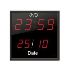 Digitálne nástenné hodiny JVD DH41, 28cm Digital Alarm Clock, Decor, Decoration, Decorating, Deco