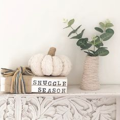 Excited to share this item from my #etsy shop: Snuggle season autumn book stack