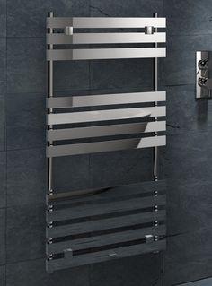 Kudox Designer Towel Rail Malaga x Chrome Towel Rail, Malaga, Radiators, Ladder, Chrome, Shelves, Beaches, Design, Gardens