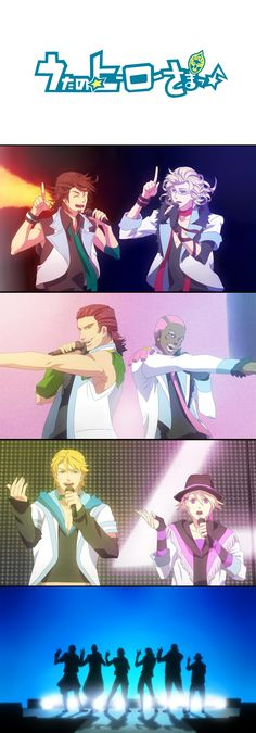 Tiger and Bunny / UtaPri crossover ::: Boys will be Boys... even when they're actually Men.