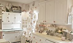 Penny's Vintage Home: Winter Kitchen