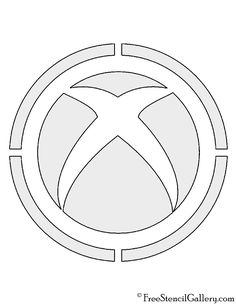 Xbox Controller Coloring Page