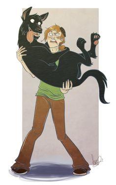 Harry Potter - Sirius Black x Remus Lupin - Wolfstar