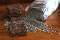 Mocha Chocolate Chunk Chia Brownies Low Carb, Gluten Free | Bob's Red Mill