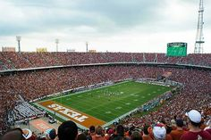 TEXAS, where our high school stadiums look like college and the college look like NFL stadiums