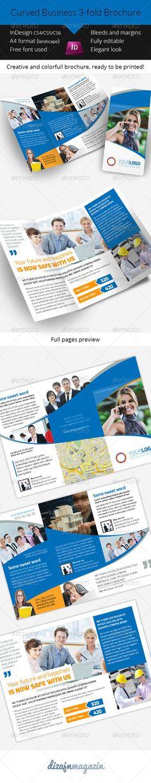 10 best indesign newsletter templates graphic design for Indesign 3 fold brochure template