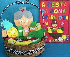 Profª: Ivani Ferreira: Plano de aula: A Cesta da Dona Maricota - Projeto alimentação/educação infantil