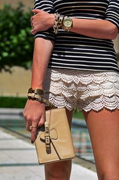 Lace Shorts love these, just got some. I need them I'm every color!