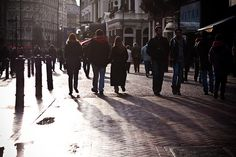 Sunlight On Leicester Square by garryknight, via Flickr