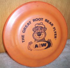 A Root Beer frisbee