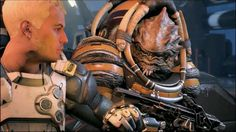 Mass Effect: Andromeda Ep. Nackmor Drack: The Future Of Our People The Future Of Us, Mass Effect, Master Chief, People, Fictional Characters, Fantasy Characters, People Illustration, Folk