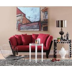 Home Decorators Collection Mission Style Black Wine Convertible Lounge-0218000150 - The Home Depot