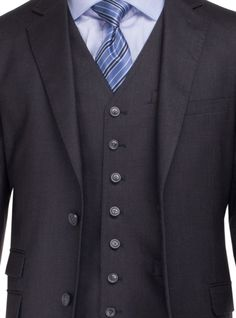 Luciano Natazzi Men's Two Button Bird's Eye 3 Piece Modern Fit Vested Suit Charcoal http://www.menssuithabit.com/men-suits-clothing/luciano-natazzi-men-s-two-button-bird-s-eye-3-piece-modern-fit-vested-suit-charcoal-13155.html