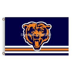 #STRIP #BEARS #LOGO #CHICAGO #BEARS #FLAG #BANNERS #FOOTBALL #TEAM #FLAGS #3X5 #FT #SUPER #BOWL #CHAMPIONS #BANNER #90X150CM #BEAR