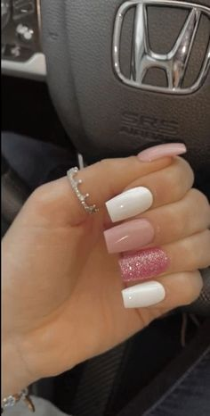 a fresh set 💅🏼 - artificial nails Stylish Nails, Trendy Nails, Aycrlic Nails, Gel Ombre Nails, Coffin Nails, Pointy Nails, Gradient Nails, Matte Nails, Best Acrylic Nails