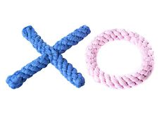 Hugs & Kisses Toy, Blue/Pink on OneKingsLane.com