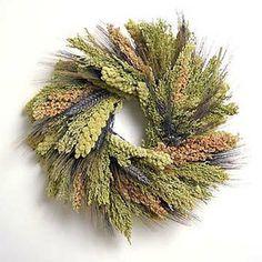 DIY edible bird seed wreath