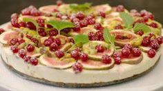 Goed weekend met Nico Sturm: cheesecake met passievrucht, speculoos en vijgen