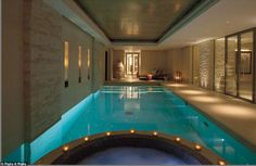Former church transformed into 50m pound home with gym and pool is a temple to modern design (more at source)