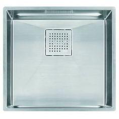 Franke FPKX11018 PEAK Stainless Steel Undermount - Single Bowl Kitchen Sink - Stainless Steel