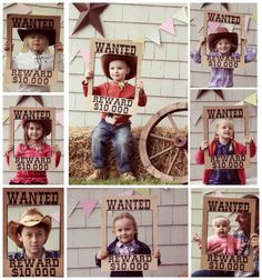 Up for a Backyard Western Theme Birthday Party WANTED poster made from a cardboard box. Perfect photo booth prop for a western theme classroom!WANTED poster made from a cardboard box. Perfect photo booth prop for a western theme classroom! Cowboy Theme Party, Cowboy Birthday Party, Horse Party, Farm Birthday, Farm Party, 2nd Birthday Parties, Backyard Birthday, Birthday Ideas, Rodeo Birthday