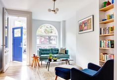Small apartment with minimal furniture in Brooklyn