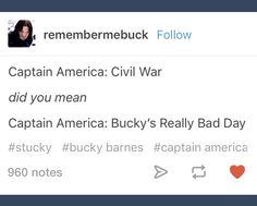 Captain America: Bucky's Really, Really, Horrendously Bad Day